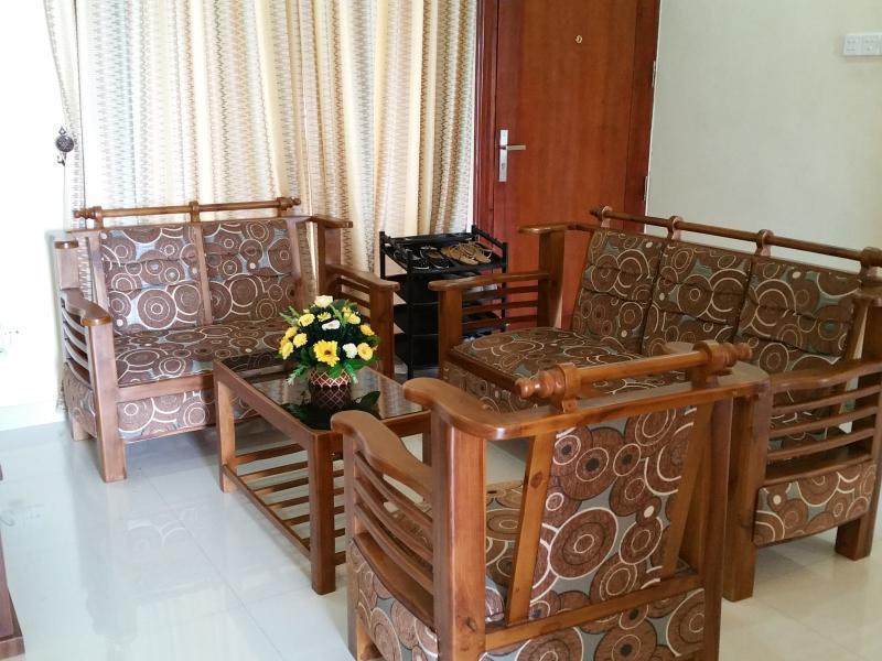 Living Room - Full Furnished with Natural Teak Timber Furnitures