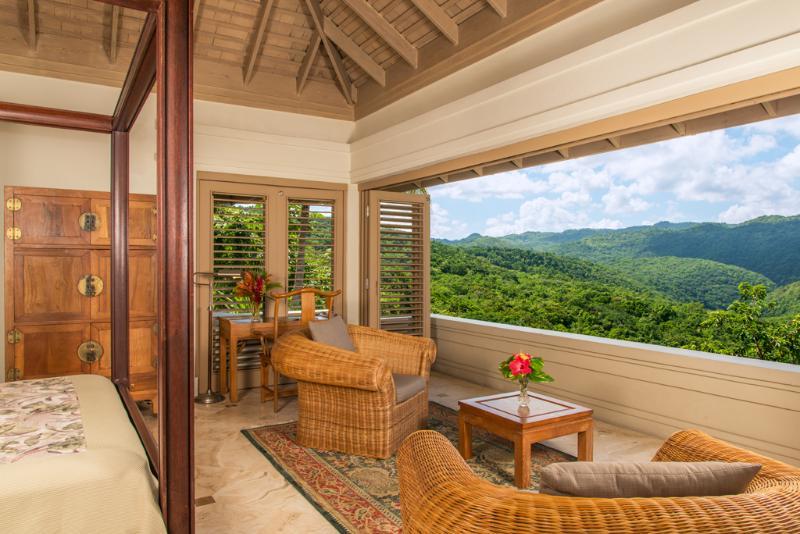 Suite con 1 camera per silenzioso acque Villa gli ospiti