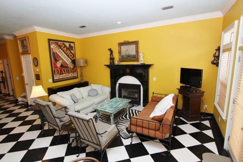 Living Room Offers Ample Seating Opportunities