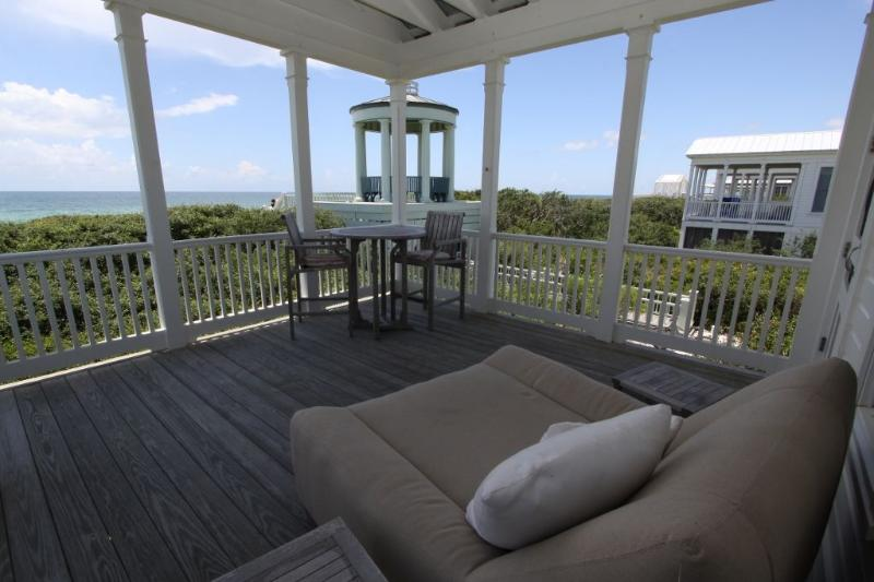 Gulf Front Porch With Lounger Chair