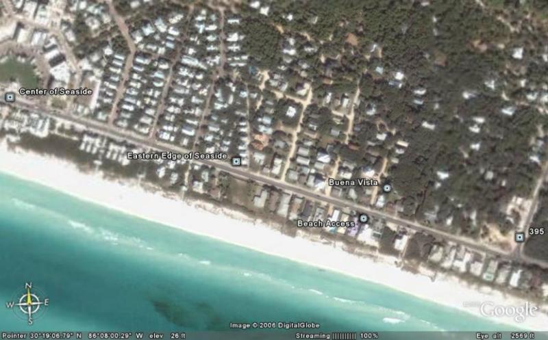 Buena Vista As Seen on Google Earth