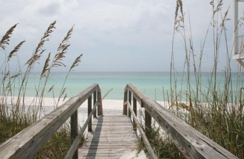 Private Beach Walkover right off your back deck