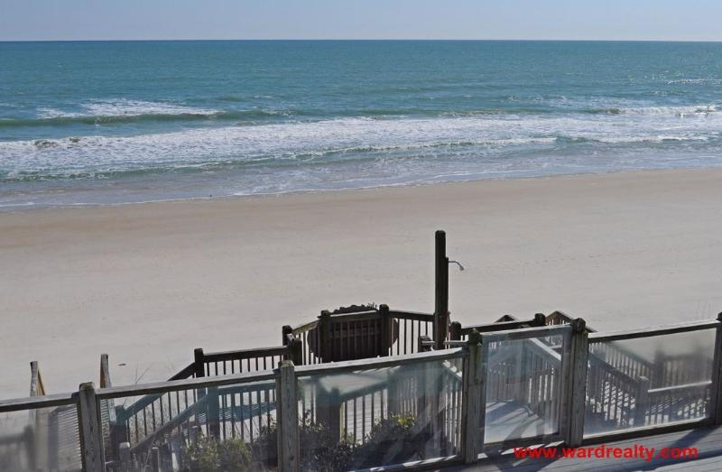 View of Ocean from 2nd Floor Covered Deck
