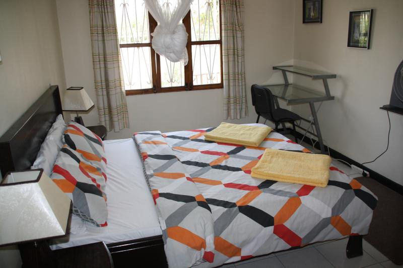 office desk in room 1