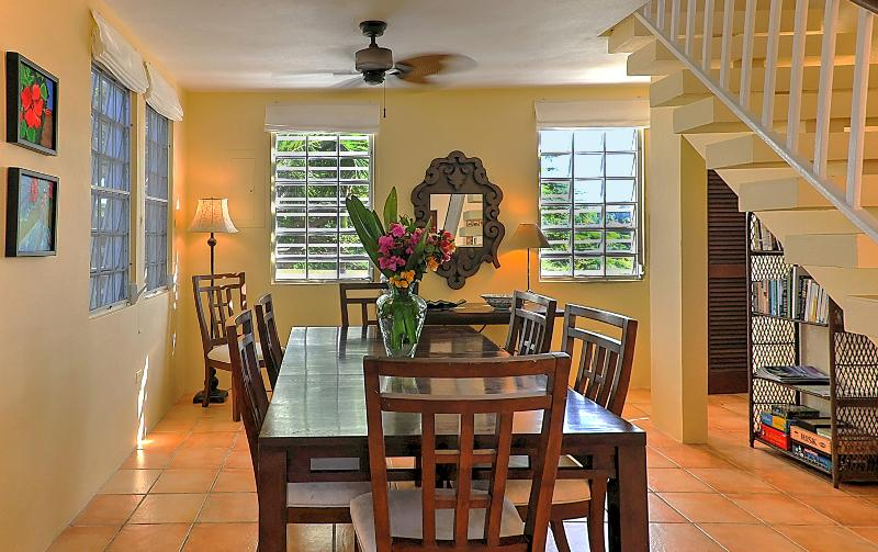 Dining options abound - including 8-person formal dining area