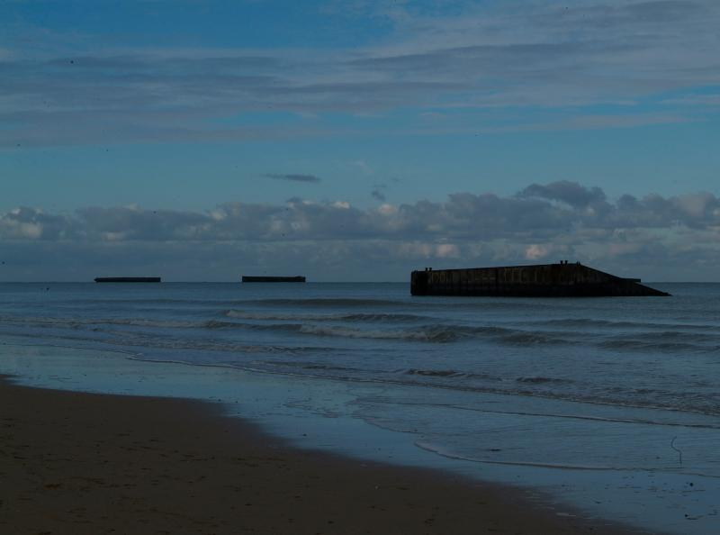 D-Day changed the landscape-there are many sites to be visited evoking the bravery of our forebears.