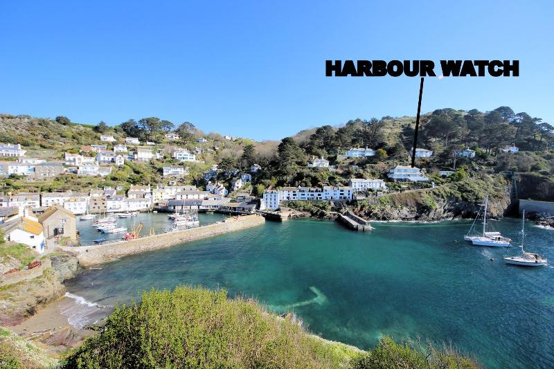 Harbour Watch is located overlooking the historic, picturesque harbour of Polperro