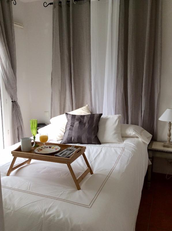 Master-Schlafzimmer Doppelbett für zwei mit eigenem Bad