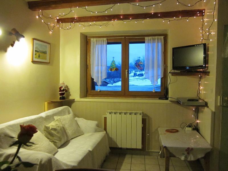 Spacieux et confortable appartement 3 pièces dans maison, location de vacances à Saint-Julien-en-Vercors
