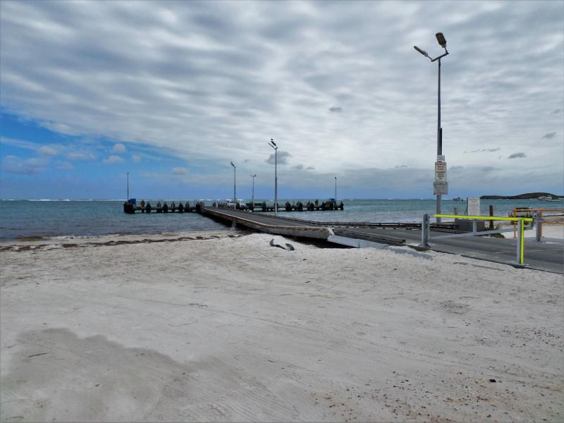 Lancelin Jetty - in the quiet of an early morning