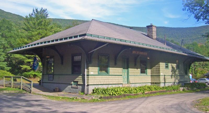 The Railroad Museum is located in one of the only historic train stations remaining in the Catskills
