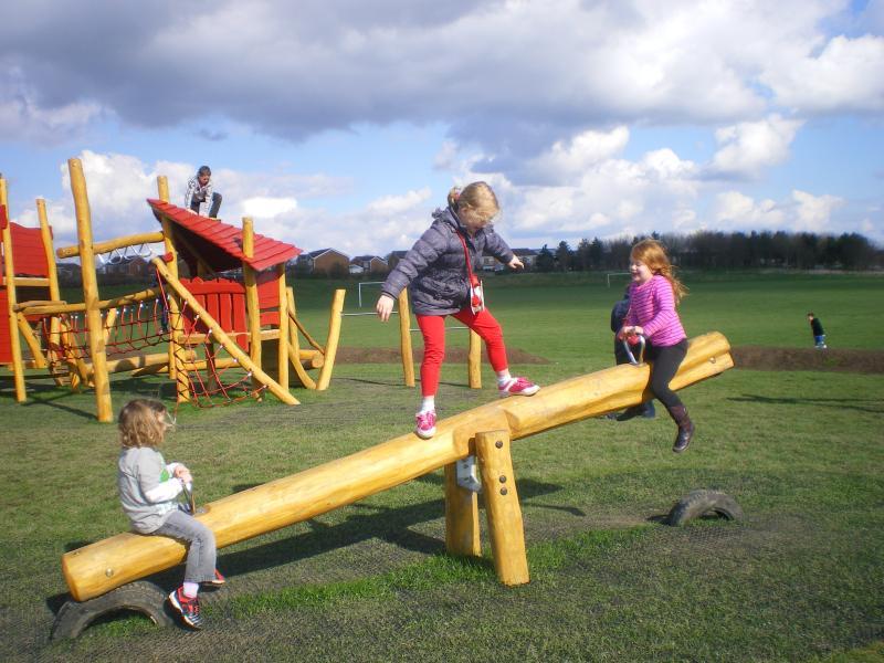 Children love nearby Holmebrook Valley Park