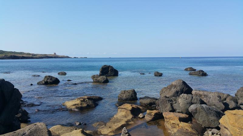 Veduta della Riserva Marina Protetta