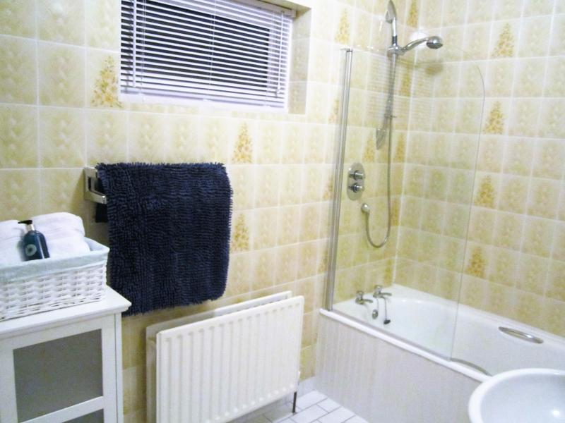 Master Bedroom - Ensuite Bathroom, with shower and bath.