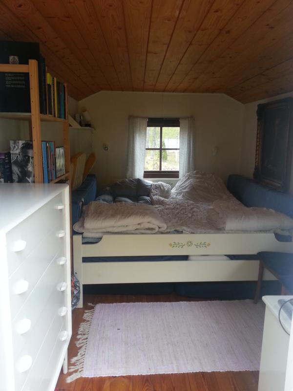 Guest cabin with doublebed