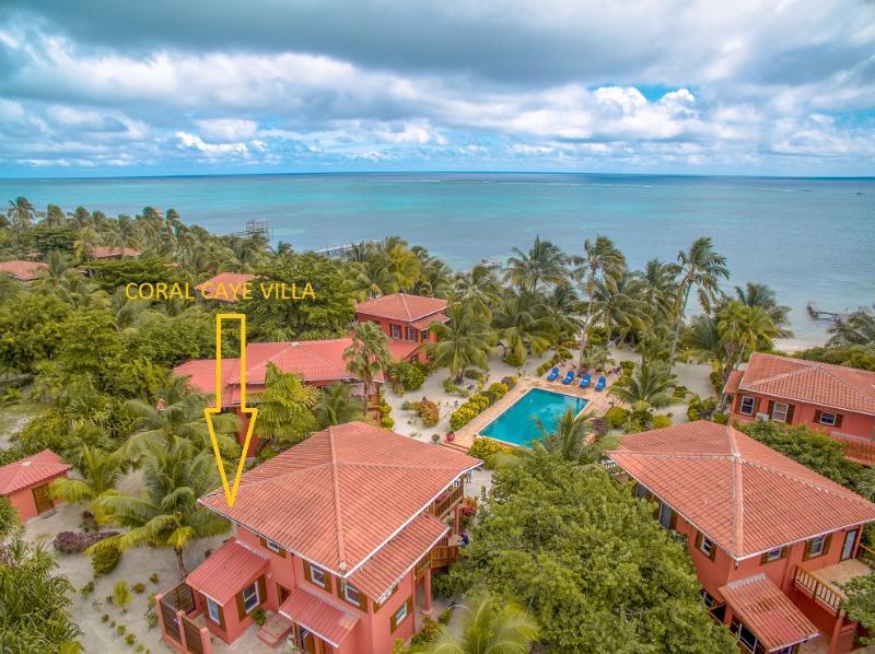 Coral Caye Villa location at Caye Villas property