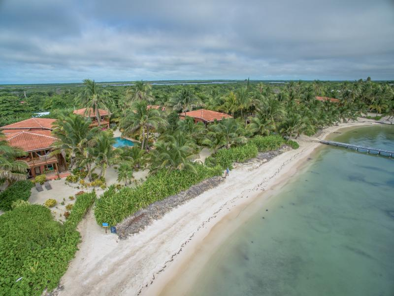 Private beach. Many restaurants walking distance