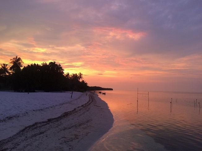 Baa Atoll Sun Set