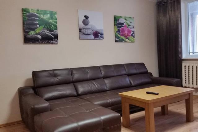 Andrius cozy apartment, holiday rental in Priekule