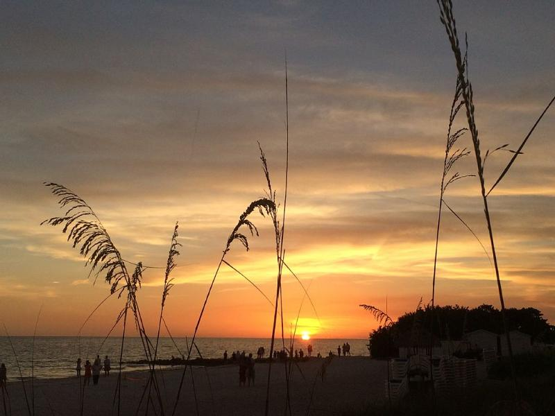 sunsets from our beach access