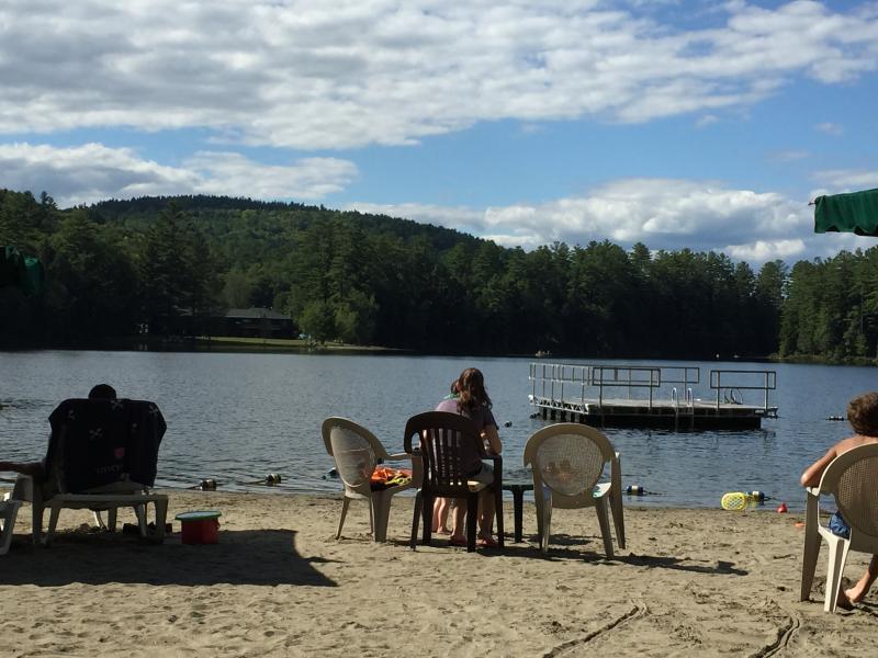 Beach at Tripp Lake