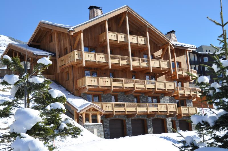 Vue d'ensemble Chalet Iselime 4 appartements duplex