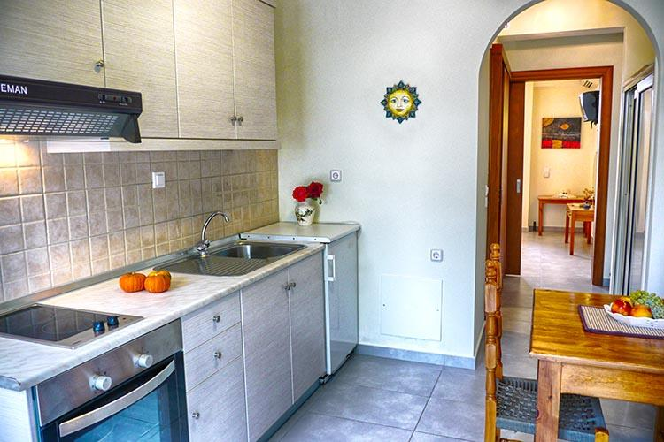 Apartments full-equipted 50qm with bathroom,living room and private balcony private balcony