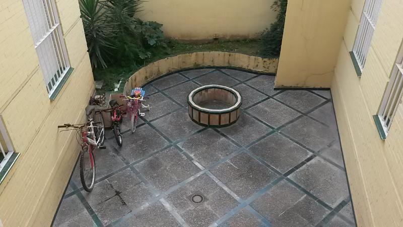 Communal patio