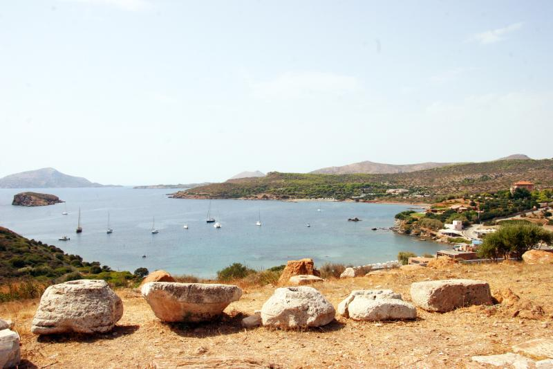 Cape Sounion (view from the temple of Athena).