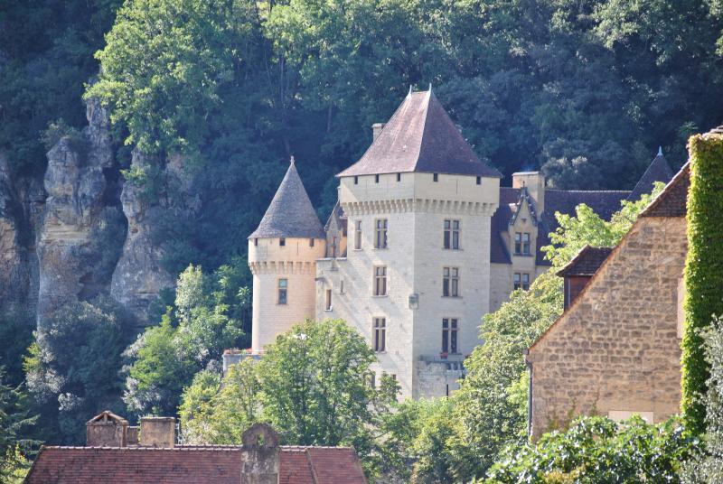 le château de la Roque Gageac