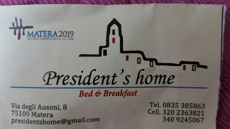 B&B President's Home, vacation rental in Grottole