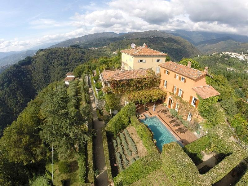 Luxurious south facing late 18th century rustic farmhouse with beautiful private pool and terrace