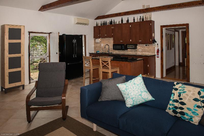 open kitchen / living room