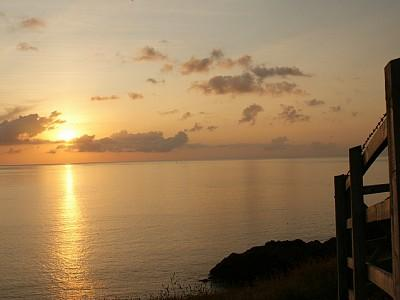 Sunset from Headland at Port Quin