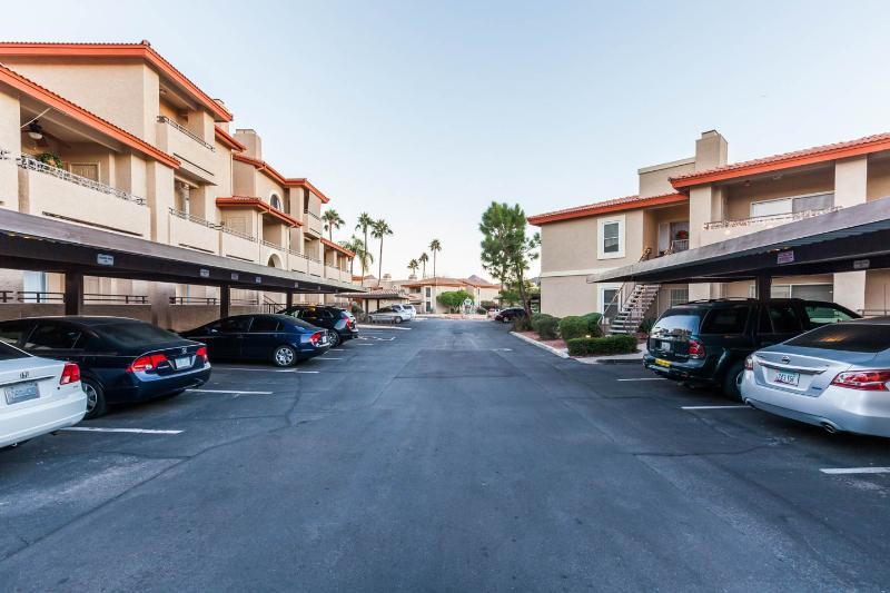 Resort Drive and Assigned Covered Parking (view #1)