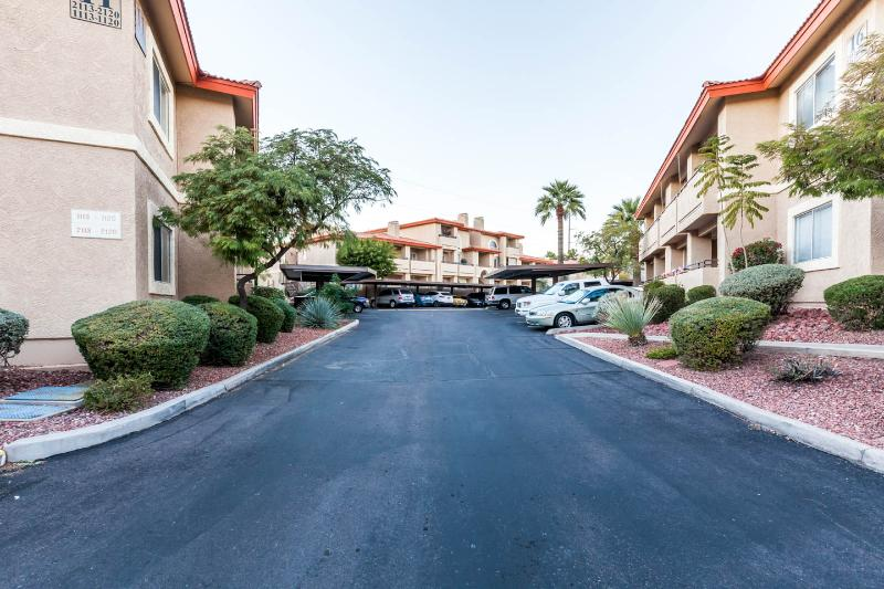 Resort Drive and Assigned Covered Parking (view #2)