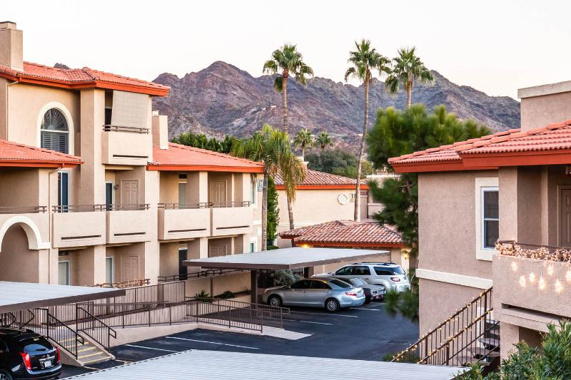 View from rental front entrance