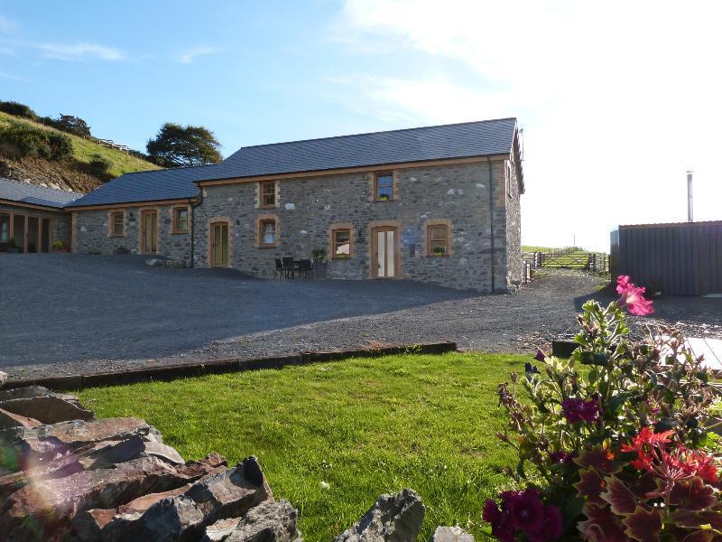 Casa de férias com vistas para Baía de Cardigan, uma curta distância do pub vila