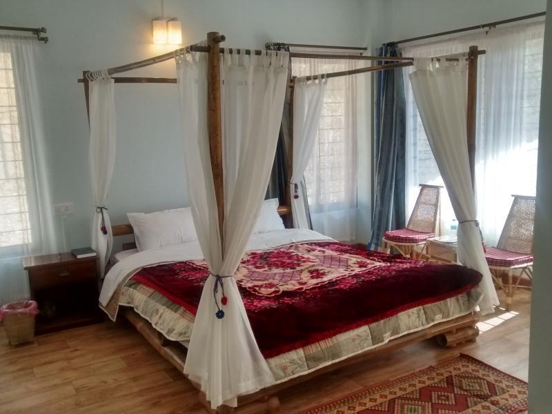 The Bamboo Room in Sha Ri Loum, holiday rental in Meghalaya