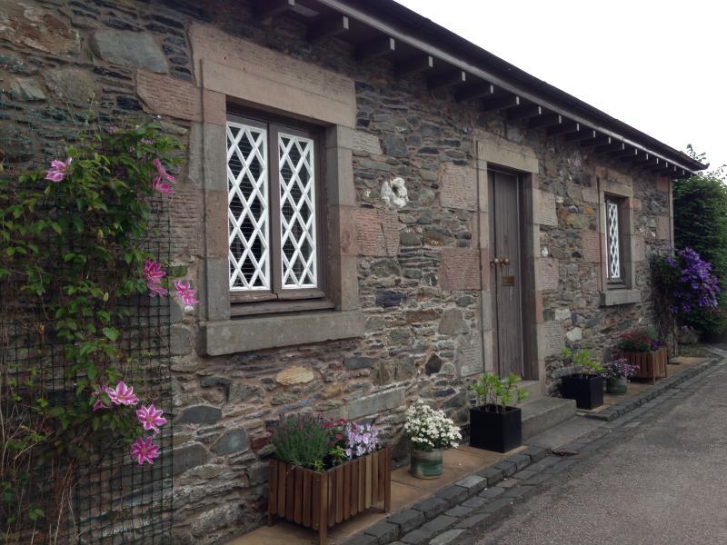 Grade II listed cottage in Luss Village, Loch Lomond.