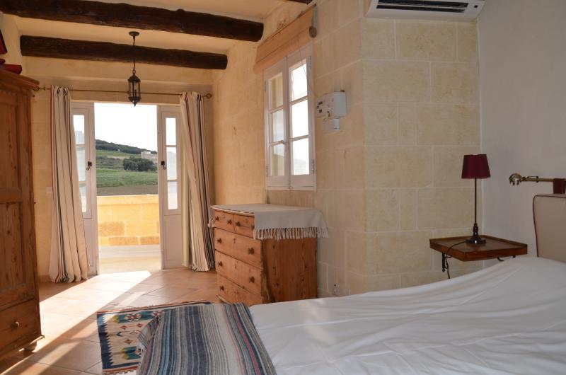 Roof terrace bedroom