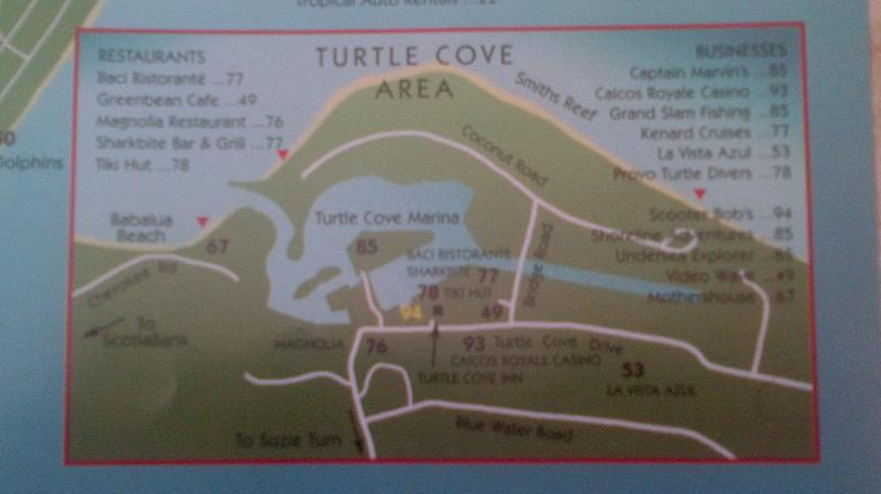 Map of Turtle Cove
