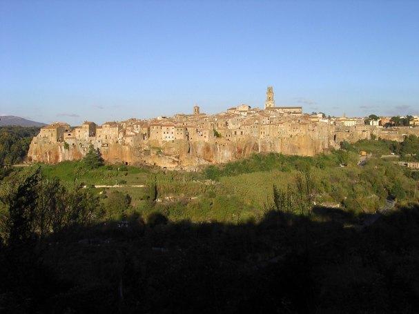 Panorama van Pitigliano