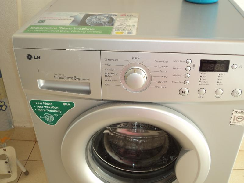 You do not have to worry about your washing