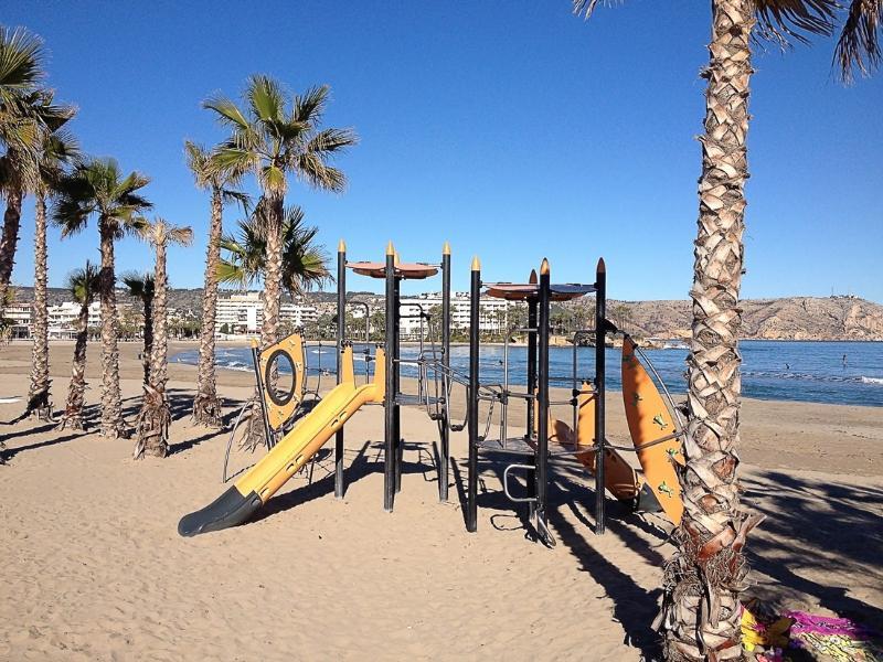 Sandy beaches in Javea, Costa Blanca