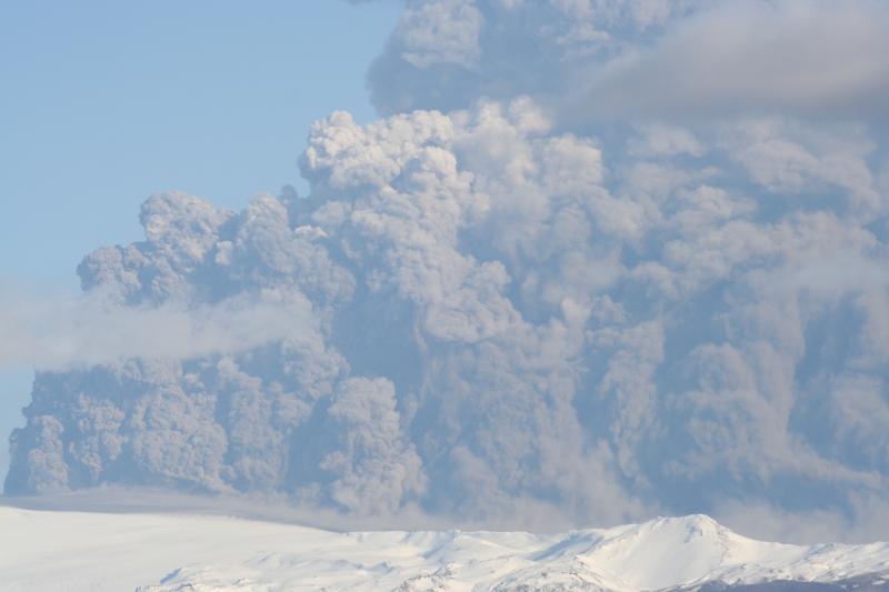 Eyjafjallajokull Vulkan.