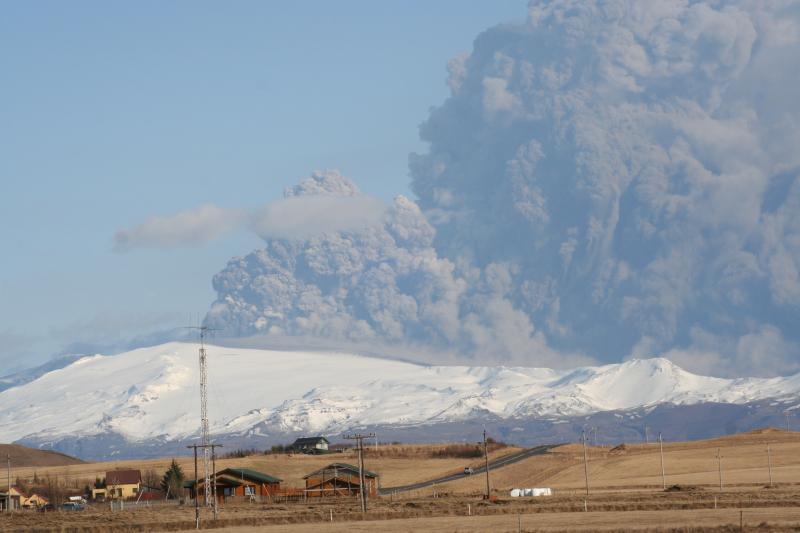 Eyjafjallajokull. Eruption 2010