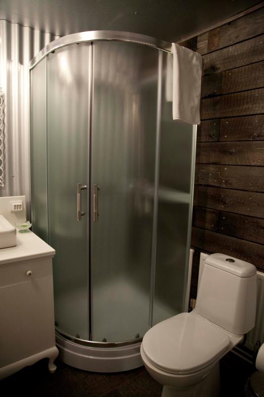 Die Dusche.