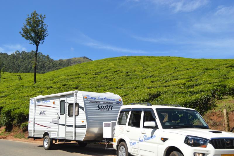 Asian inn for caravans