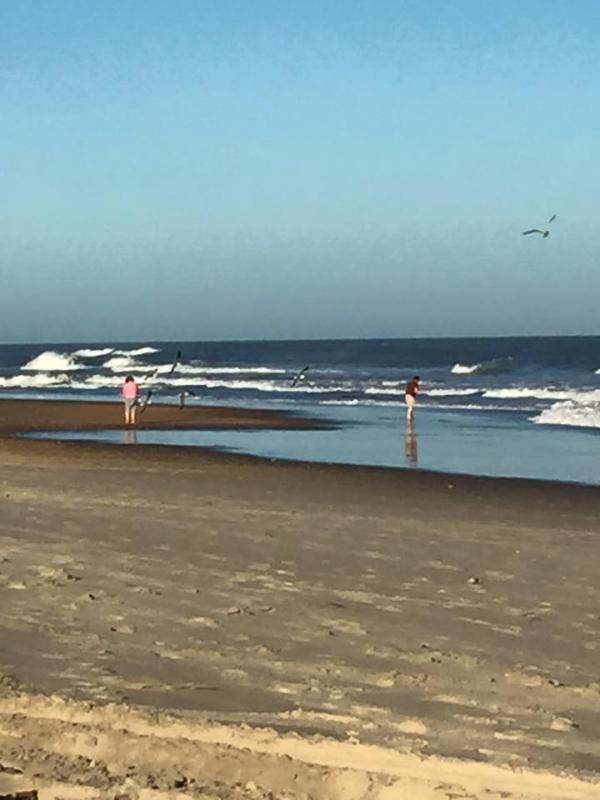 The beach in December, 2015...beautiful!